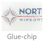 glue chip privacy glass