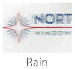 rain drops privacy glass