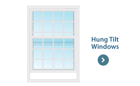 Hung-tilt Window