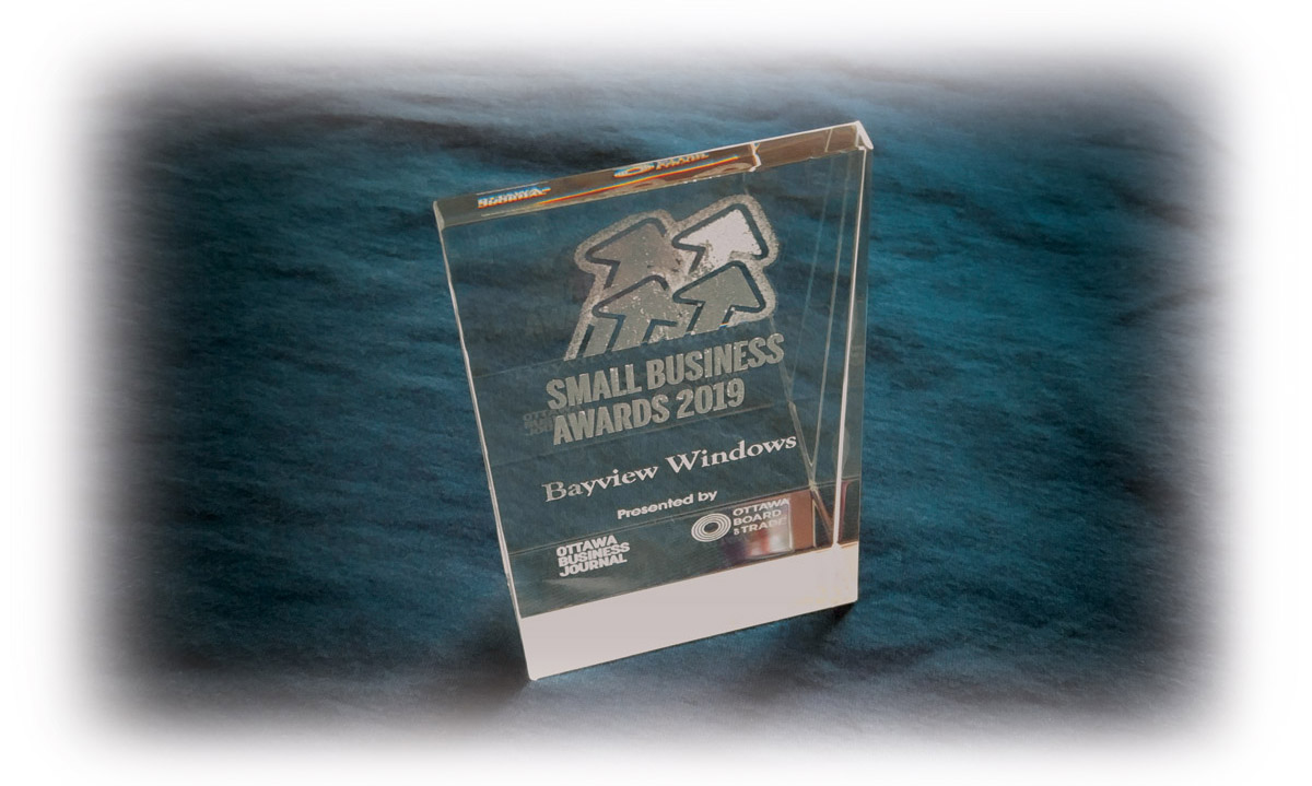 Bayview Windows Receives Small Business Award