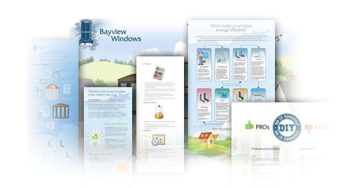 Bayview Windows - Infographic