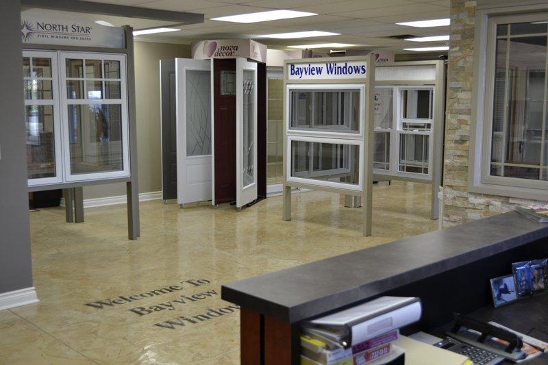 Bayview Windows showroom