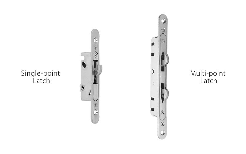 Multi-point locks