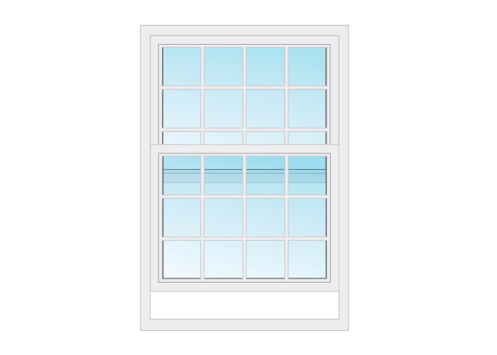 window type - hung