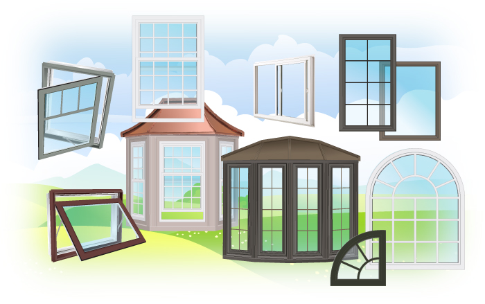Ottawa, Kanata, Stittsville, Manotick Window Types