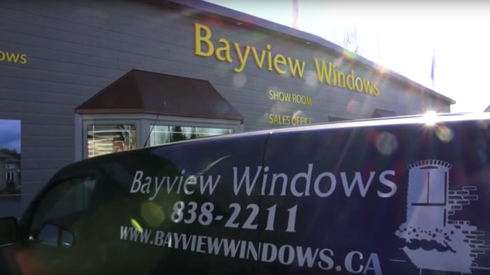 Bayview Windows Ottawa - showroom, external view