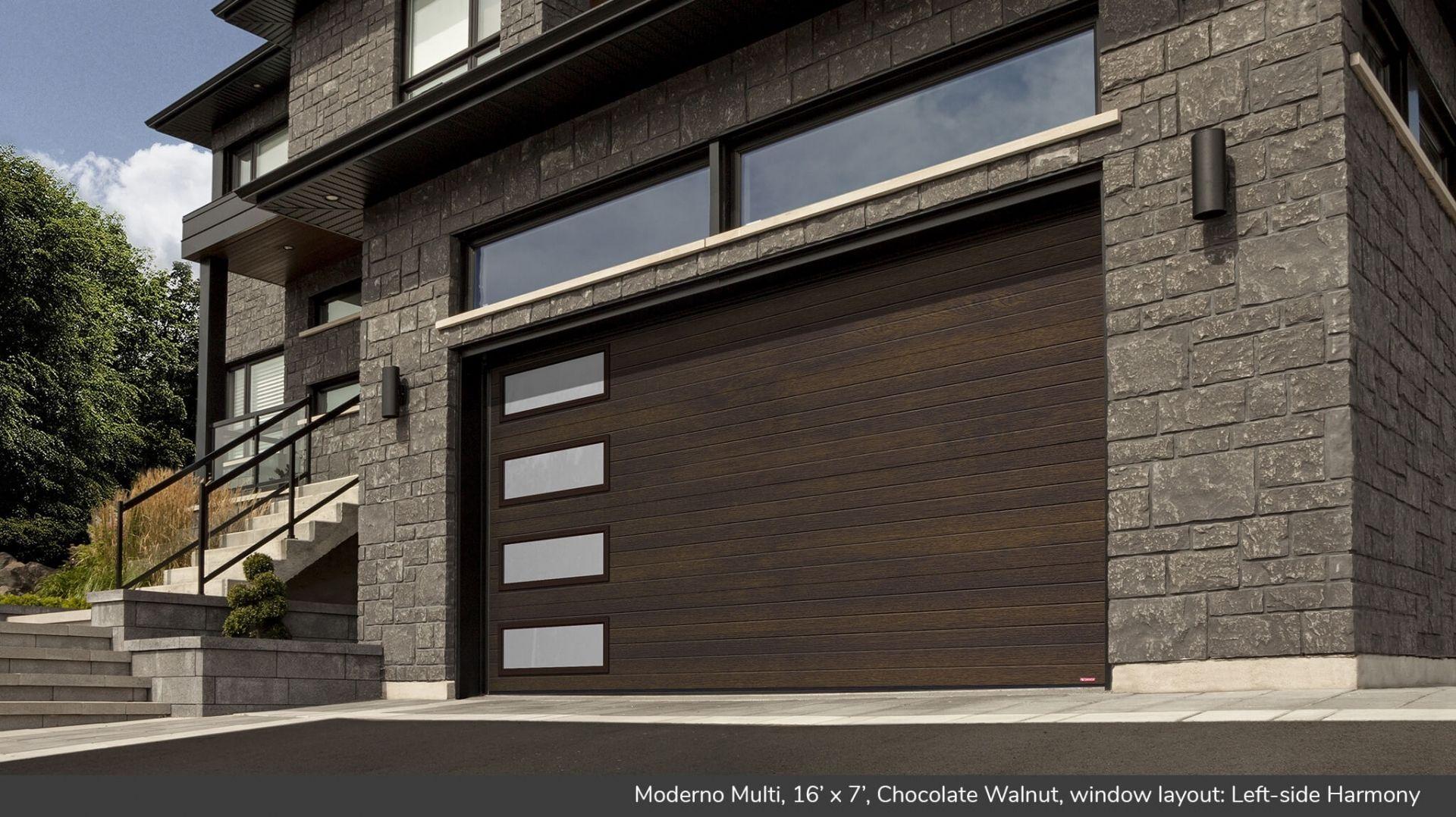 Garage Doors > Garaga Garage Doors - Moderno Multi