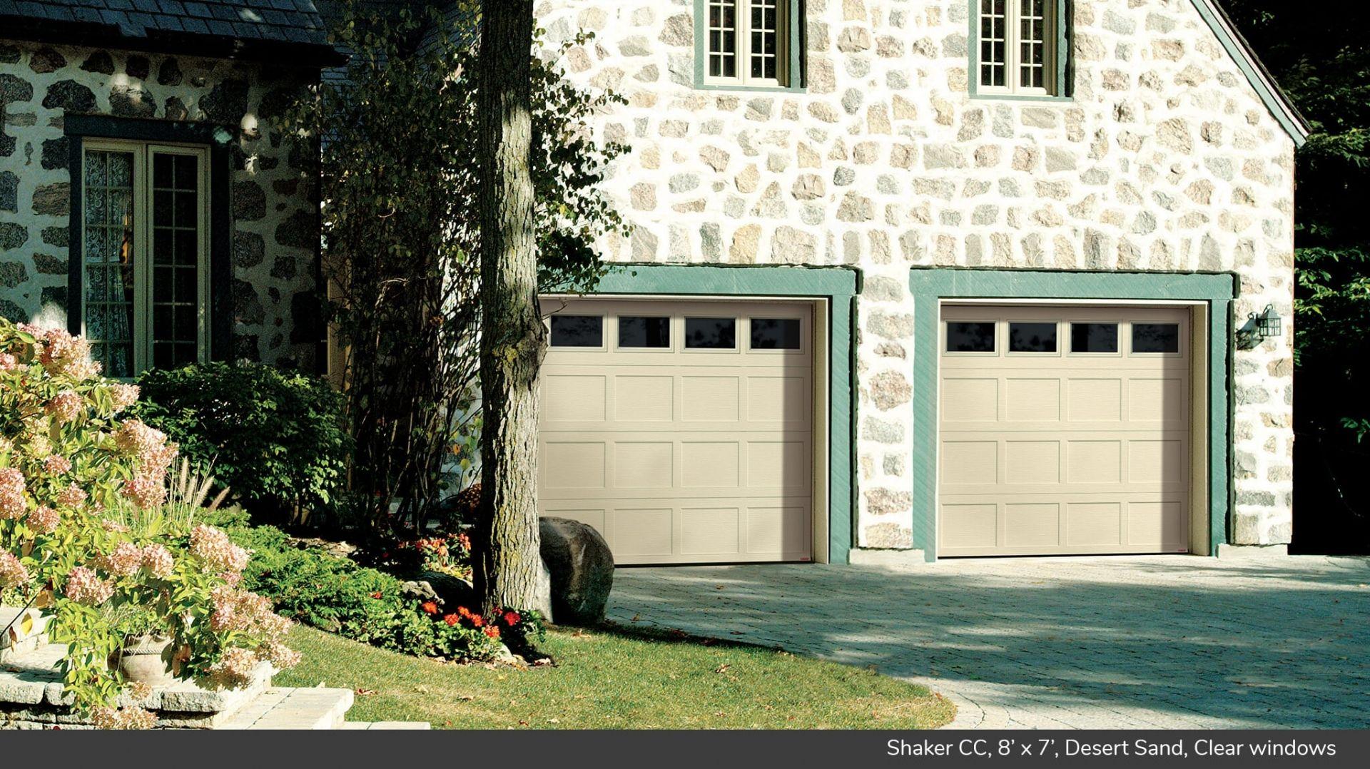 Garage Doors > Garaga Garage Doors - Shaker CC
