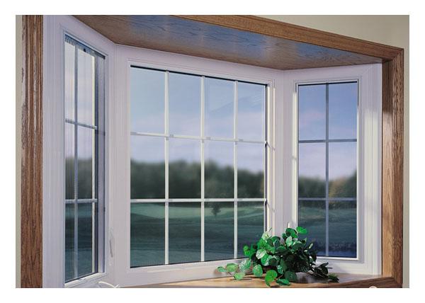 Gallery Image > Bay window, 2 casement windows, 1 picture window, grills