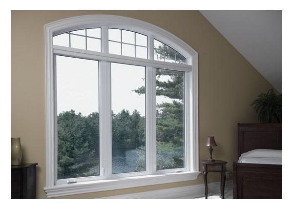 Bedroom - 2 casement, 1 picture, 3 shaped windows