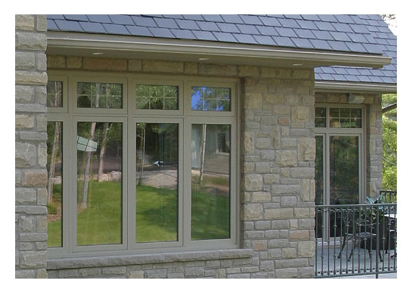 Picture & awning windows above casement windows
