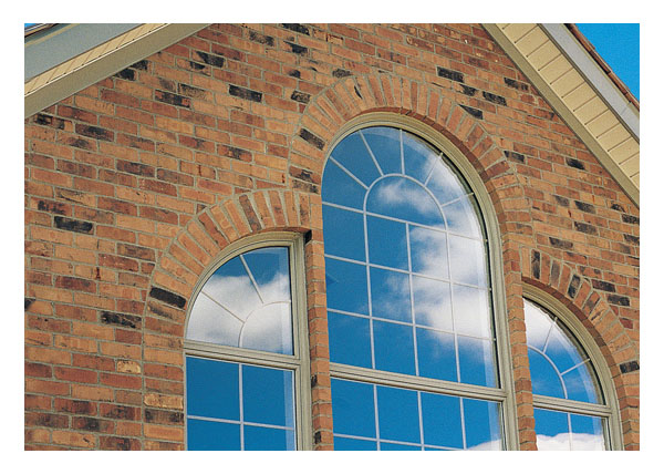 Gallery image entance way custom shaped vinyl transom for Custom vinyl windows