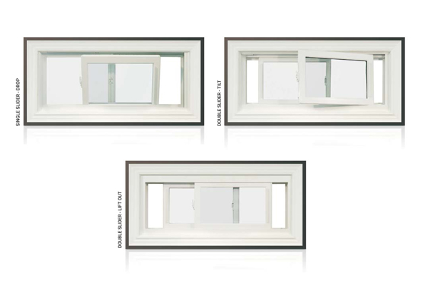 Del - Bayview Slider Window Types