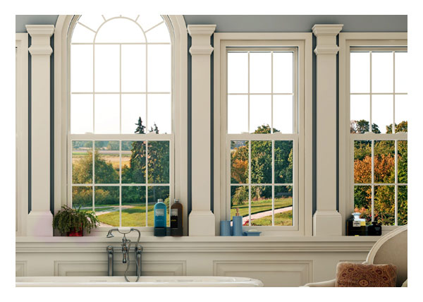 Conventional and custom shaped single hung windows
