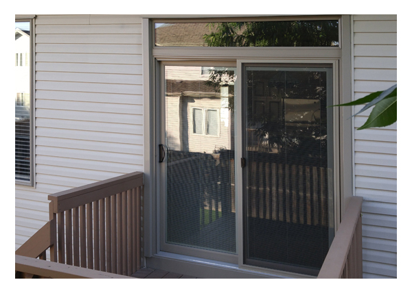 Gallery Image > North Star Patio Door - With interior blind option exterior view