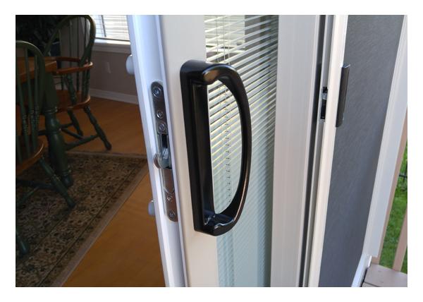 Gallery Image > North Star Patio Door - Main lock handle exterior
