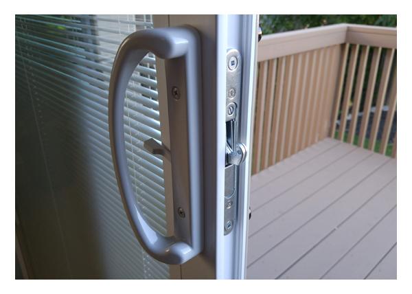 Gallery > North Star Patio Door - Main lock handle Interior