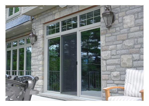 Gallery Image > North Star - coloured vinyl patio door exterior