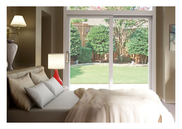 Gallery Image > North Star - vinyl patio door interior - bed room