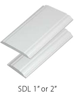 SDL 1 inch, SDL 2 inch