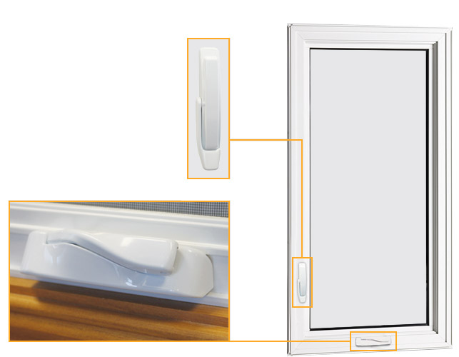 Casement and Awning Windows (PVC)