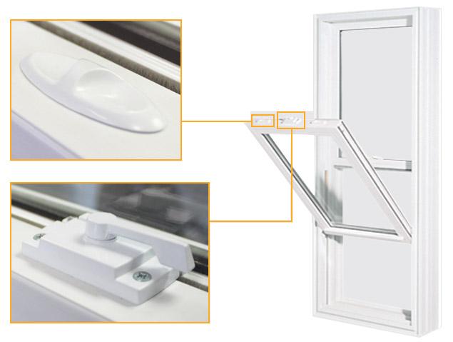 Hung Windows (PVC)