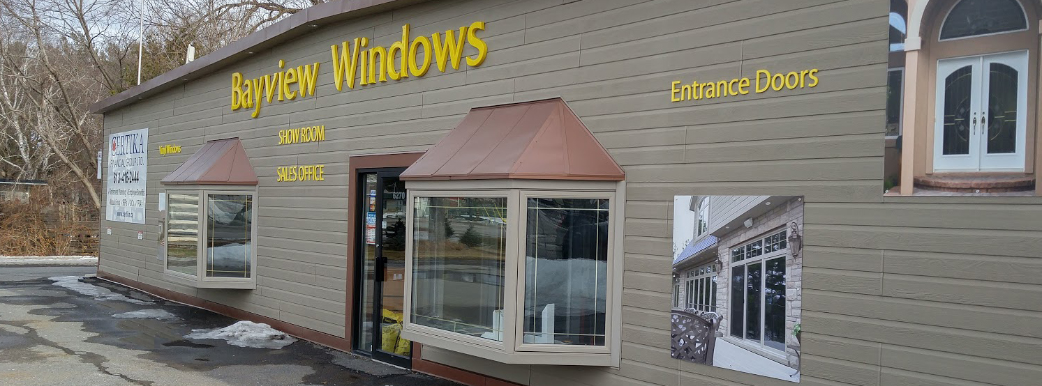 Bayview Windows Showroom Exterior
