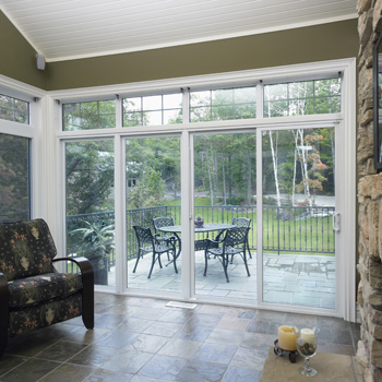 Installation of sliding glass door 01