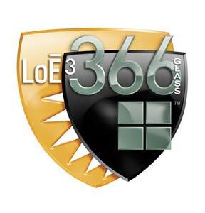 LoE 366 (Cardinal) Glass