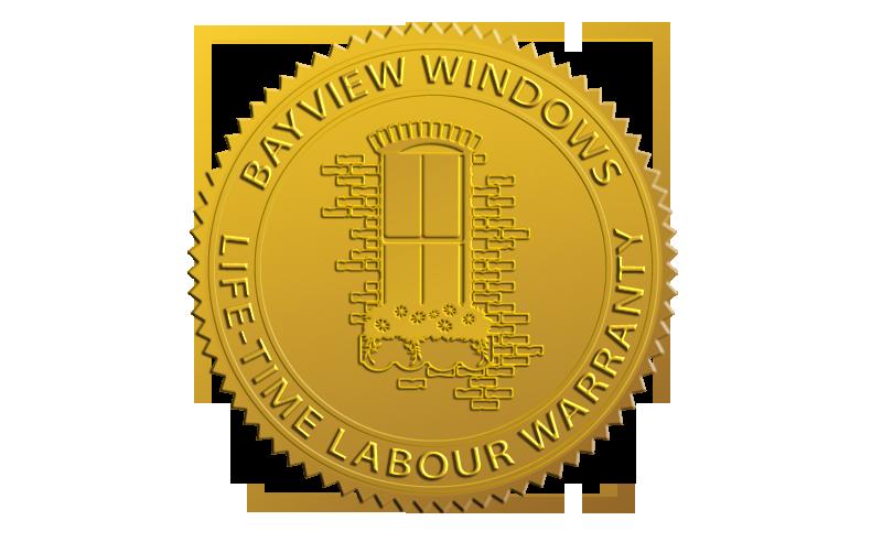 Bayview Windows - Life-time Labour Warranty