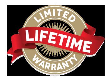 Del Windows & Doors, life-time warranty