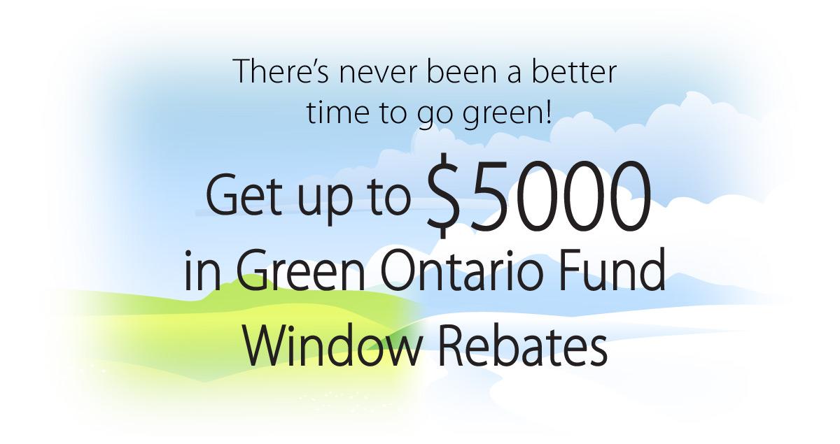 Green Ontario Rebate