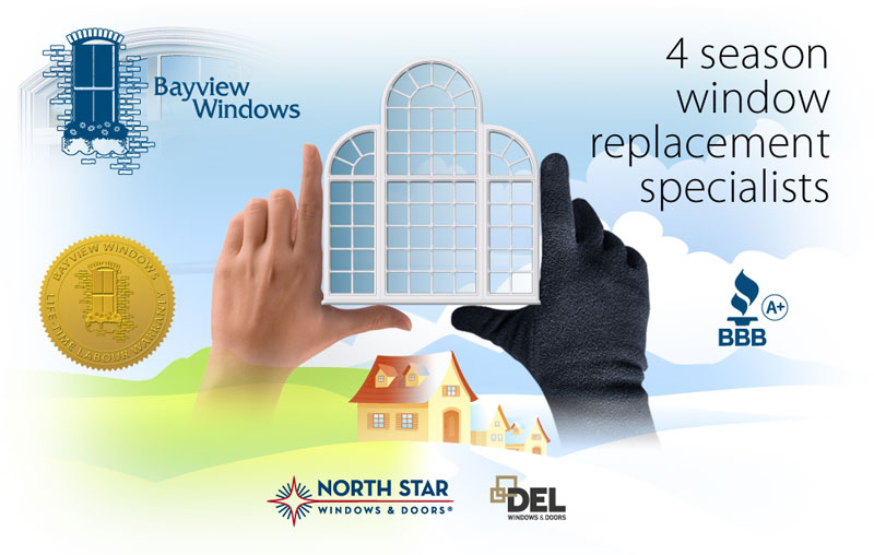 Ottawa Northstar and Del vinyl window replacement
