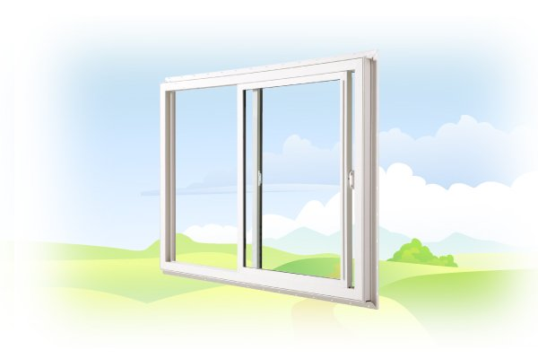 Slider windows are beautiful and practical that maximize inside/outside space