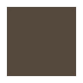Exterior vinyl window colour - Chestnut Brown