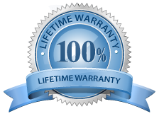 North Star Windows & Doors, life-time warranty