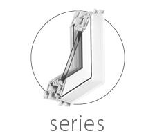 North Star window series types