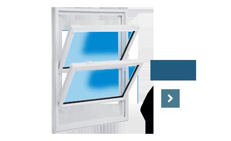 Hung-tilt Window